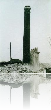 Great Oakley Steam Mill - demolished in the early 1970s