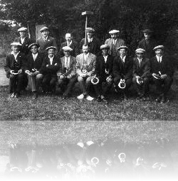Stones Green Quoits Team in the 1930s