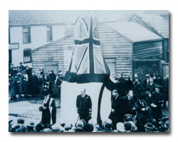 Dedication of the Great Oakley War Memorial, 31st January, 1920