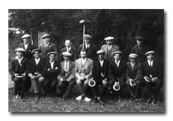 Stones Green's Championship winning Quoits team, 1930